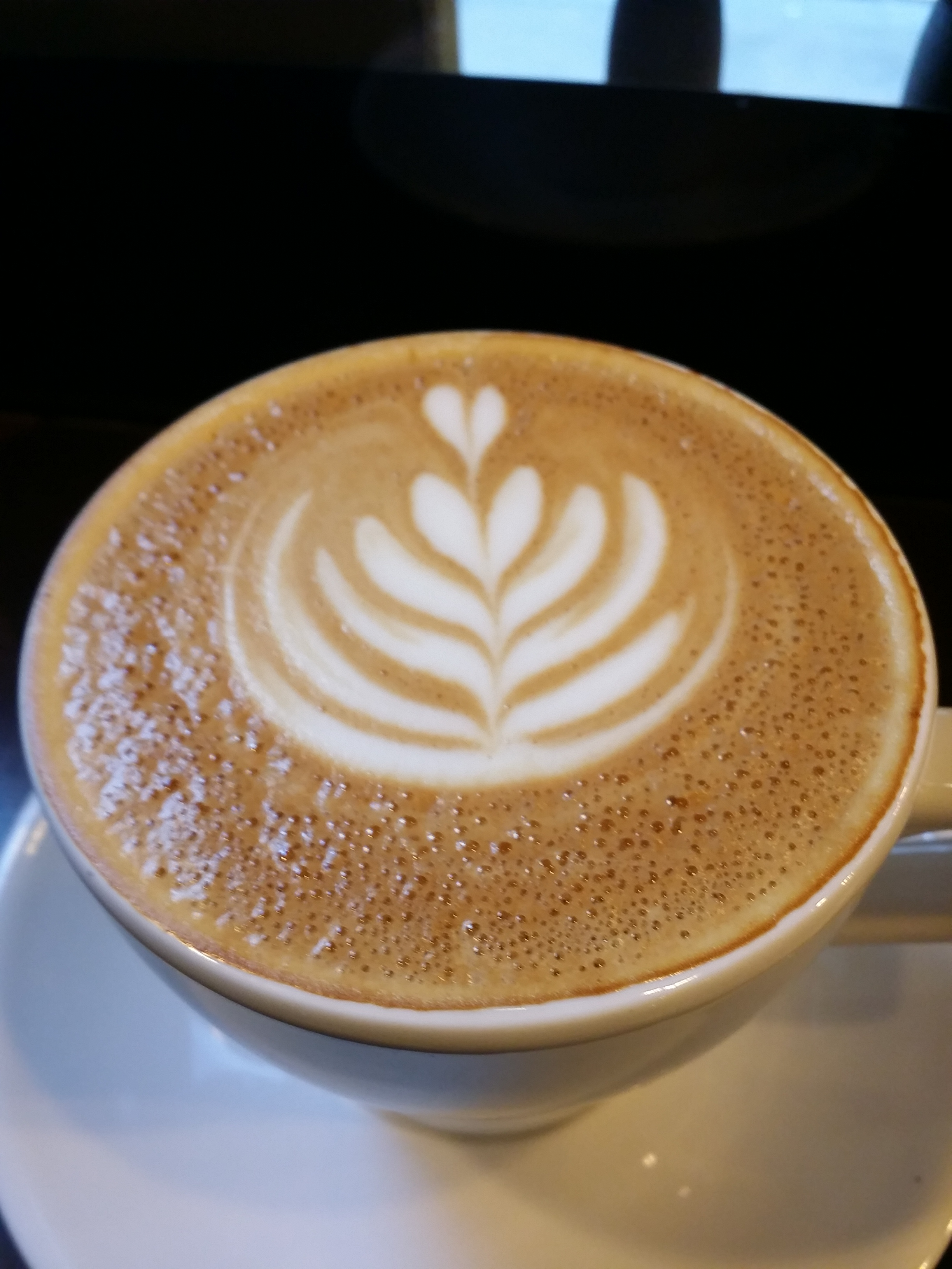 Cappucino at the Priory